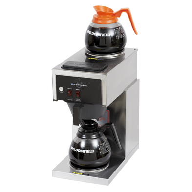 Bloomfield 8543-D2 Two Warmer Pourover Decanter Brewer