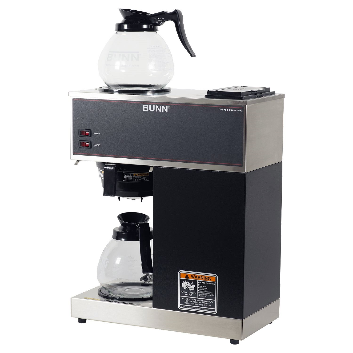 Bunn 33200.0001 VPR Two Warmer Pourover Decanter Brewer
