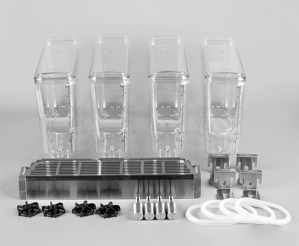Crathco 231-00543 CS-4E-16 Bowl Kit