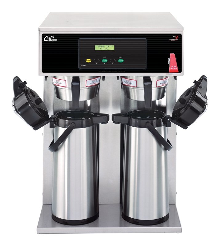 Wilbur Curtis D1000GT12A000 Dual Airpot Coffee Brewer