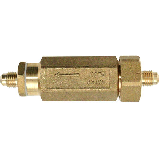 HHD B23820.1A Brass Strainer 1/4 Male Flare with Screen