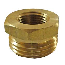 "HHD MGH6FP Male Garden Hose Adapter 3/8"" Female Pipe Thread"