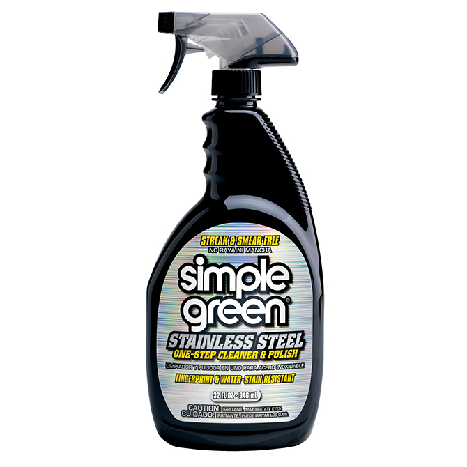 HHD SGS Simple Green Stainless Steel 1 Step Cleaner and Polish