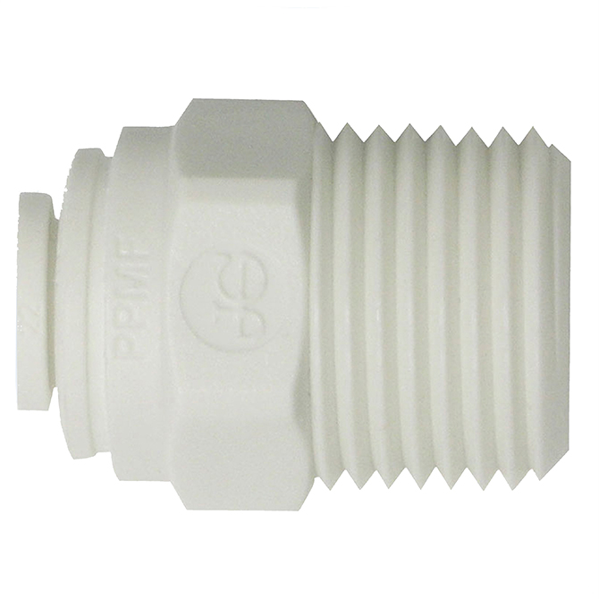 John Guest GMCBSP66 Male Connector 3/8 TUBE X 3/8 BSPT ESPR (10)