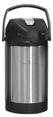 Newco 120705 2.5L Stainless Steel Airpot Lever Dispense