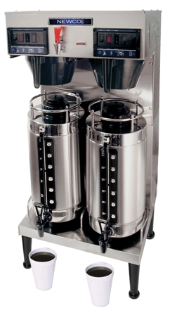 Newco GXDF-8D Twin 2 Gallon Thermal Coffee Brewer