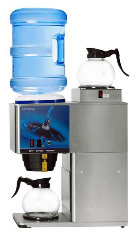 Newco KB-2 Two Warmer Bottled Water Brewer