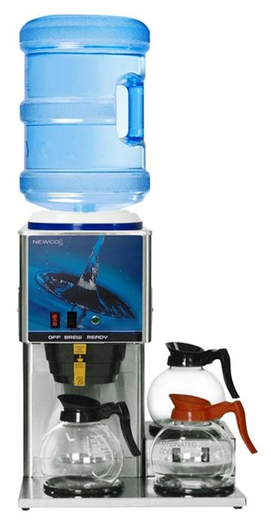 Newco KB-3 Three Warmer Bottled Water Brewer